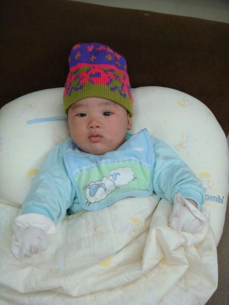 戴內湖阿媽送的帽帽