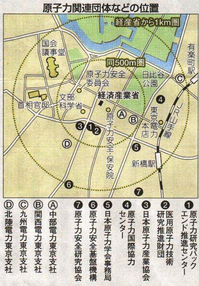 原子力村@東京的博愛特區