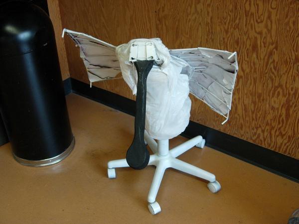 柏克萊學生做的黑面琵鷺