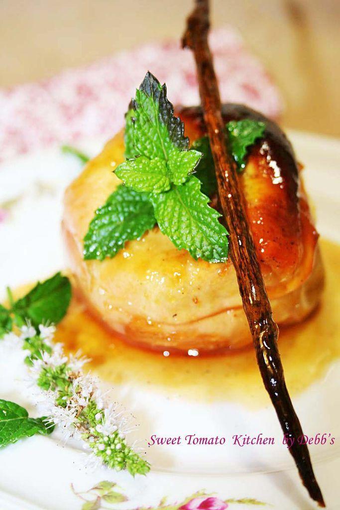 法式烤蘋果 015