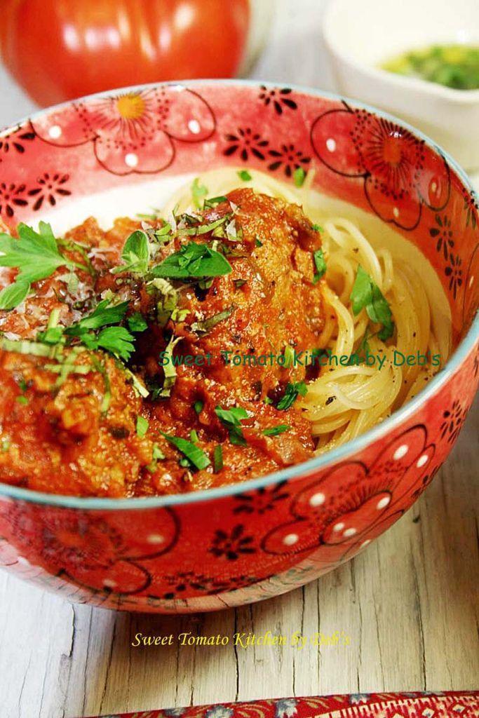蔬菜香草肉丸子義大利麵 040