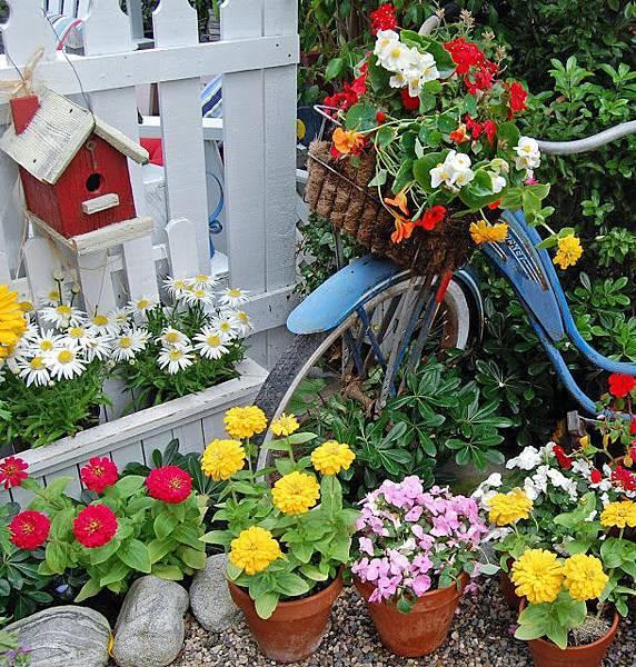 繽紛彩色夏日花園