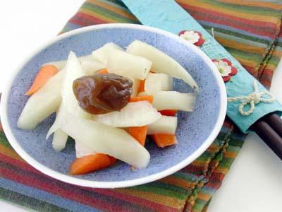 梅汁蘿蔔泡菜
