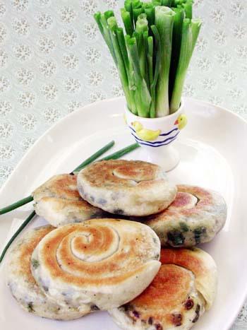 蔥花香~捲餅