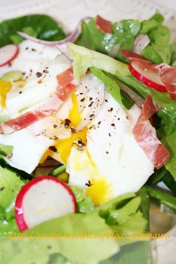 義式火腿蔬菜蛋沙拉