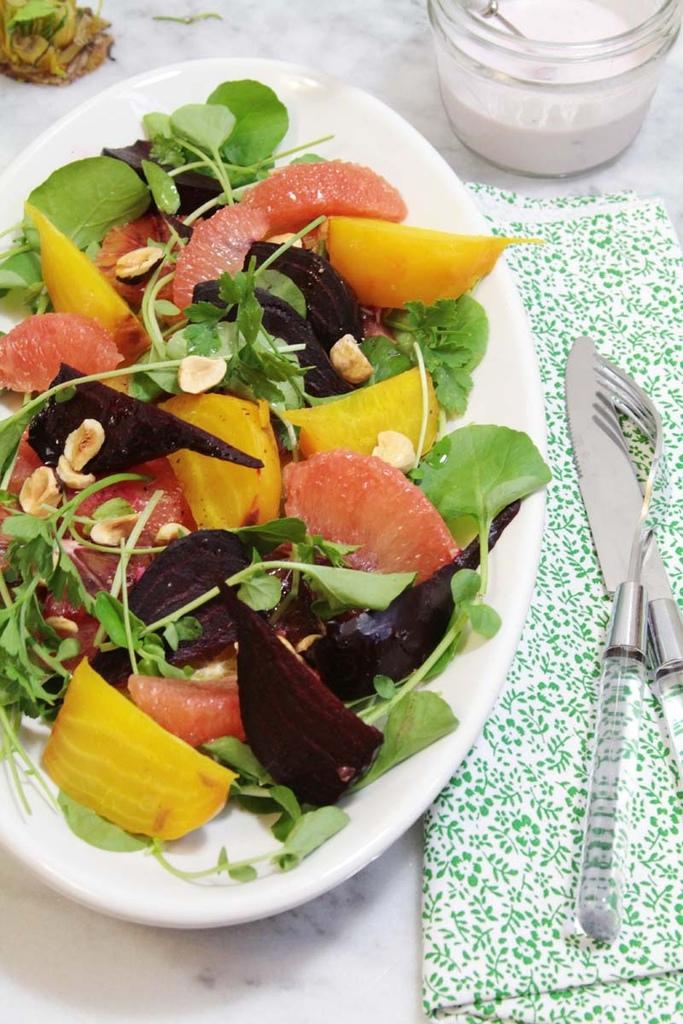 Beet orange salad 011