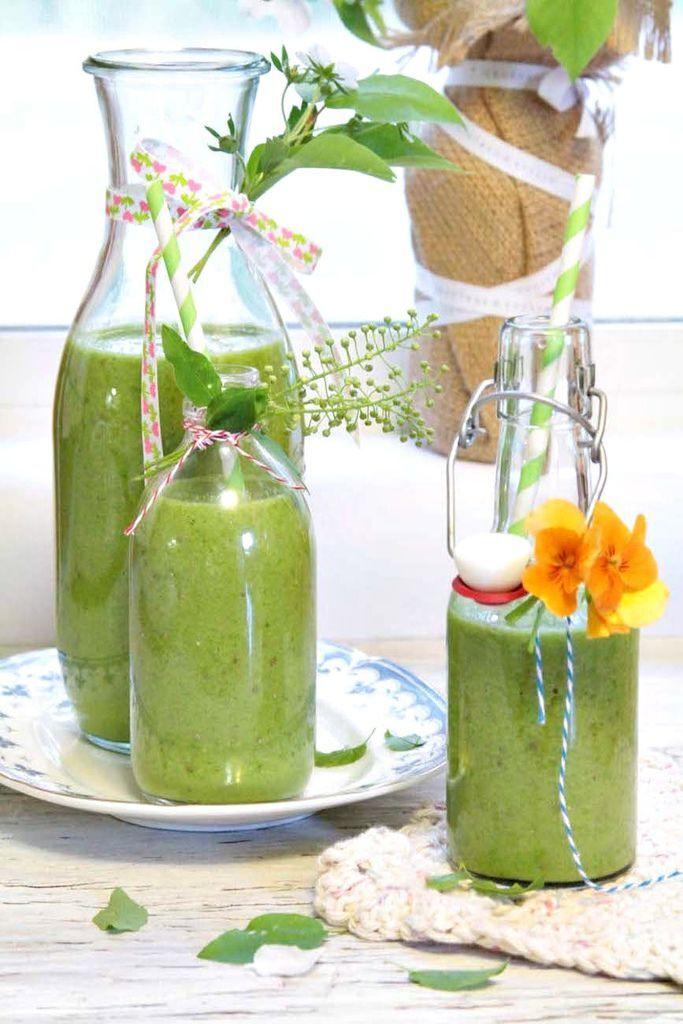 奇異籽綠色蔬果汁