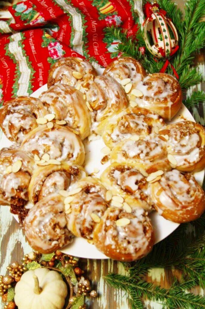 耶誕花圈麵包3 003