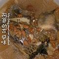 黃豆燜吳郭魚