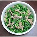 韭菜炒肉絲
