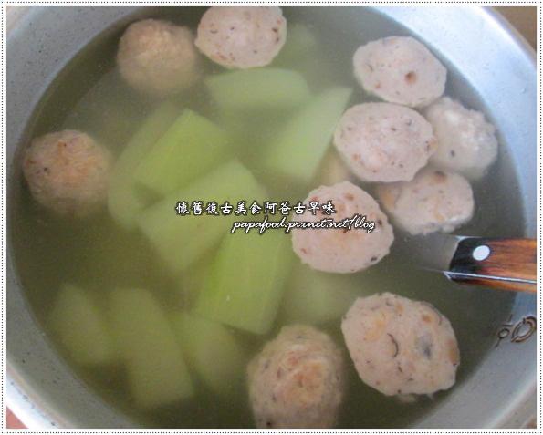 刺瓜貢丸湯