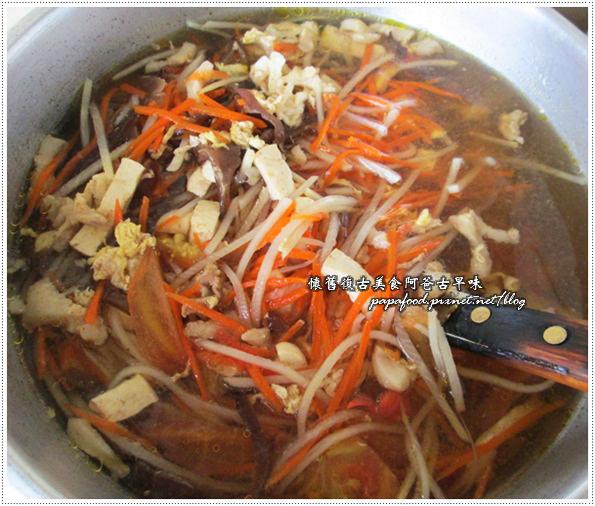 蕃茄豆腐肉絲湯