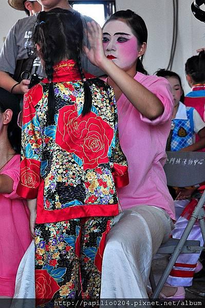 2011金門古地城隍遶境-妝人