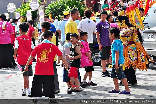 2011金門古地城隍繞境-童戲