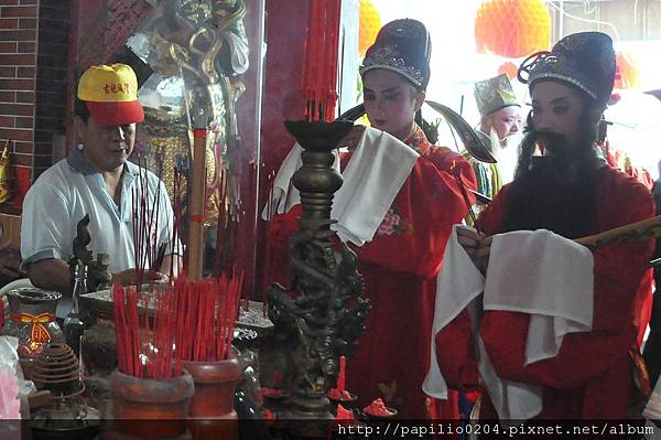 2011金門古地城隍遶境-八仙拜壽