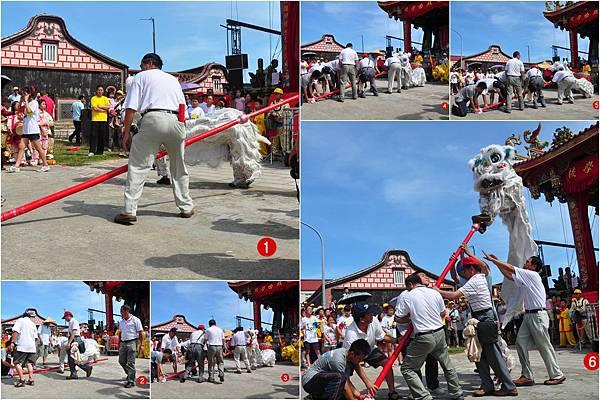 2011金門古地城隍遶境-古城國小舞獅
