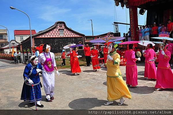 2011金門古地城隍遶境-後浦北門十二婆姐陣