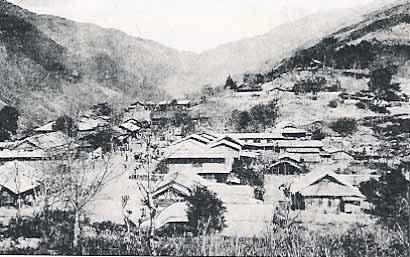 1930年代的霧社街景