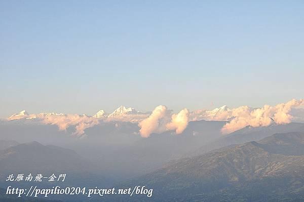 納嘉闊特(Nagakot)周邊雪山