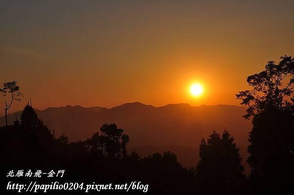 納嘉闊特(Nagakot)夕陽