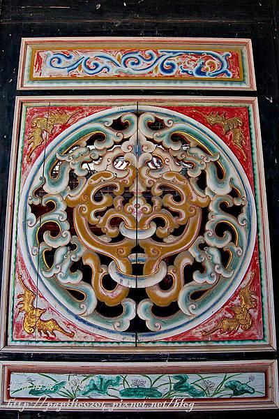 金門青嶼張氏家廟[歷史建築]-2008年攝