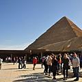 吉薩金字塔區售票處