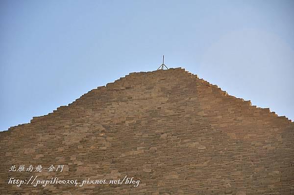 古夫金字塔頂端