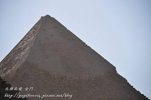 卡夫拉金字塔頂端