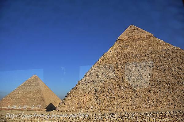 古夫金字塔與卡夫拉金字塔