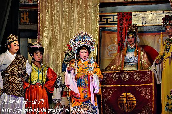 金門四月十二迎城隍的傳統戲曲表演