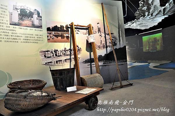 第一展示室-金門的海洋之製鹽用具