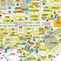 台灣大學校園流蘇地圖