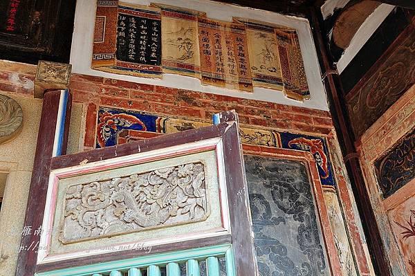 西山前李宅18號鏡面牆裝飾