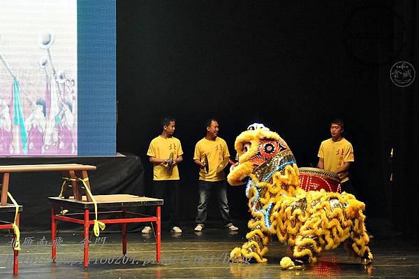 金門北鎮廟獅陣-1