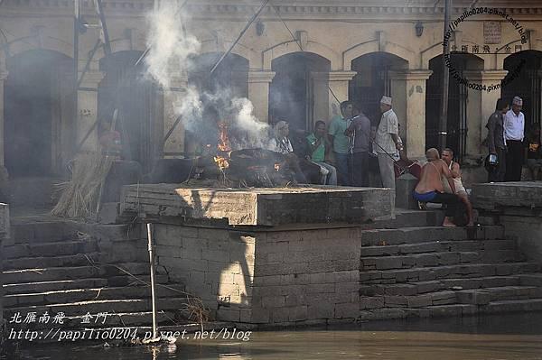 巴格馬提河(Bagmati River)畔的河壇火葬場-4