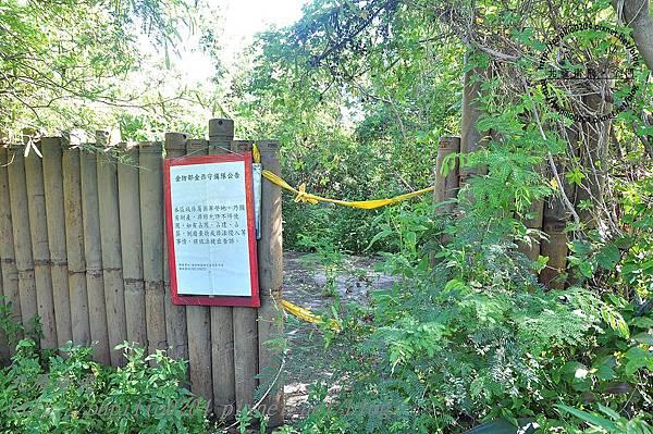 發現緬甸蟒的金門營區