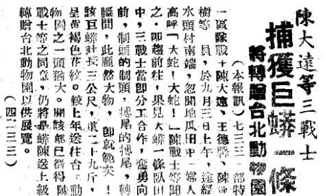 19540905正氣中華報