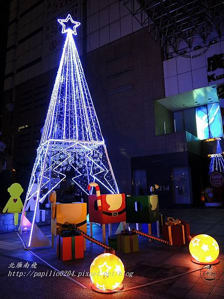 廣三SOGO百貨前廣場聖誕樹