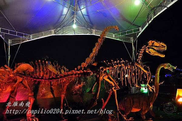 21自然探索燈區-恐龍化石