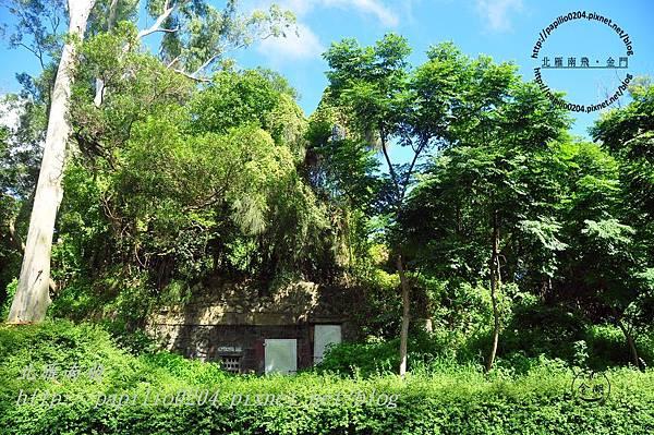 0287黃海路下莊段路旁碉堡