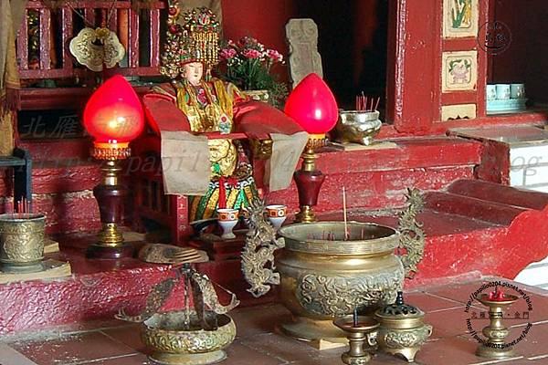 烏坵天上聖母廟中的媽祖神尊
