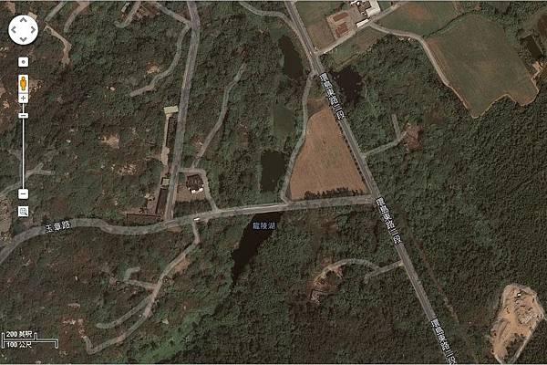 Google Map龍陵湖