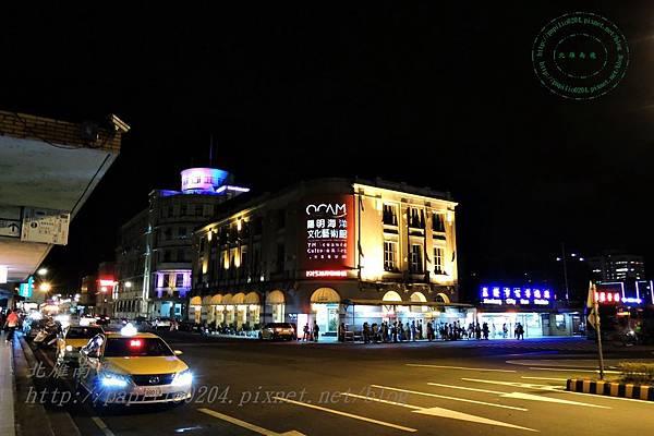 基隆車站周邊夜景