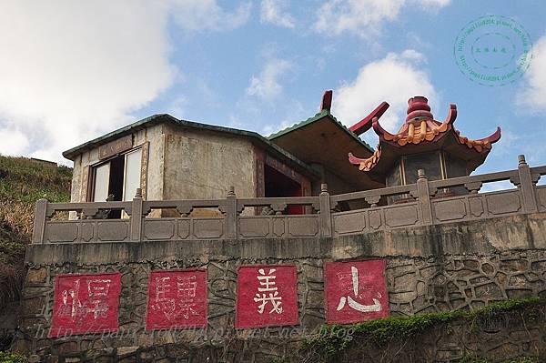 清水澳中的忠義廟