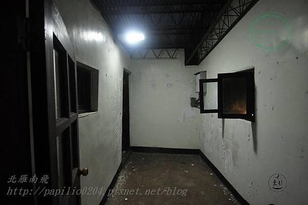 安東坑道內部連長室