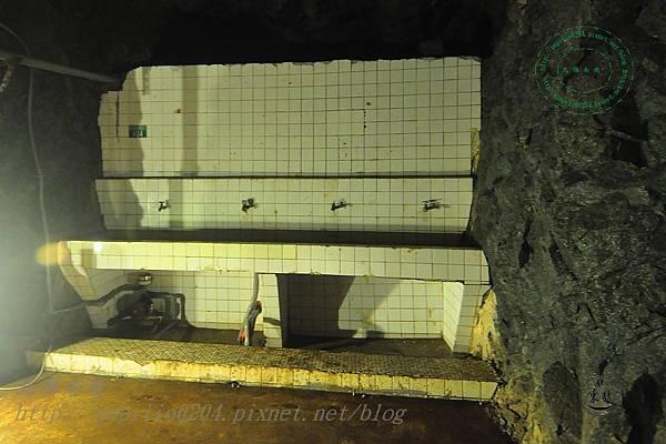 安東坑道內部盥洗室