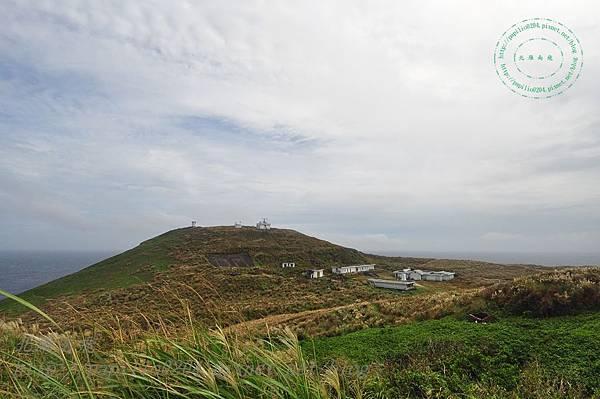 彭佳嶼燈塔遠望營區