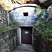 擎天水廠飲水思源軍用儲水庫坑道入口