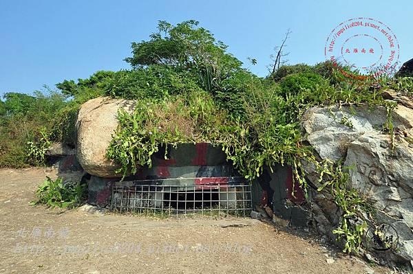 17成功坑道碉堡外觀.JPG