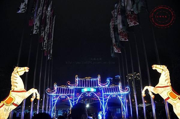 02 2014中臺灣元宵燈會白馬迎賓區‧.JPG